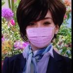 """ざわちん""""スマスマ""""にてマスクを外す。素顔公開!"""